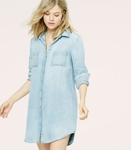 Image of Lou & Grey Double Indigo Shirtdress