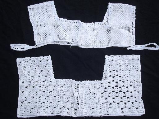 crochet yokes - Google Search