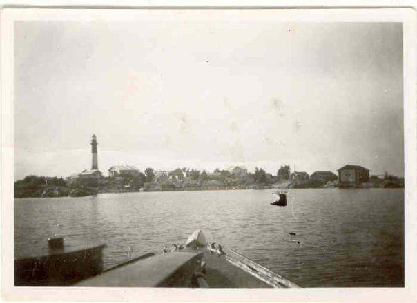 Tankar mereltä 50-luvulla Lighthouse island, fyr Tankar Kokkola Karleby  #Tankar #Kokkola #Karleby #Perämeri #majakat #majakkasaari