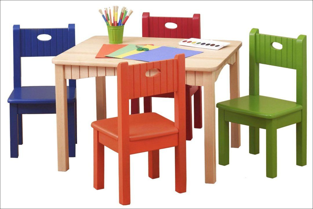 75f11c1a7b7e Wooden Table And Chair Set For Kids 2