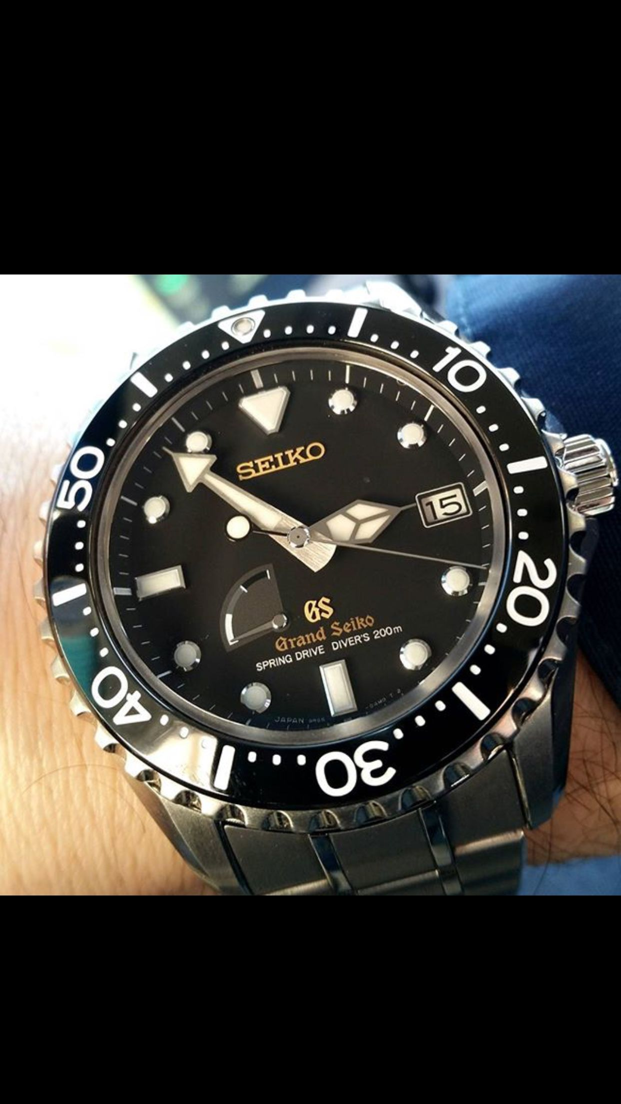 the best attitude b71ee c1b5c Grand Seiko Diver SBGA031 | Grand Seiko in 2019 | Rolex ...