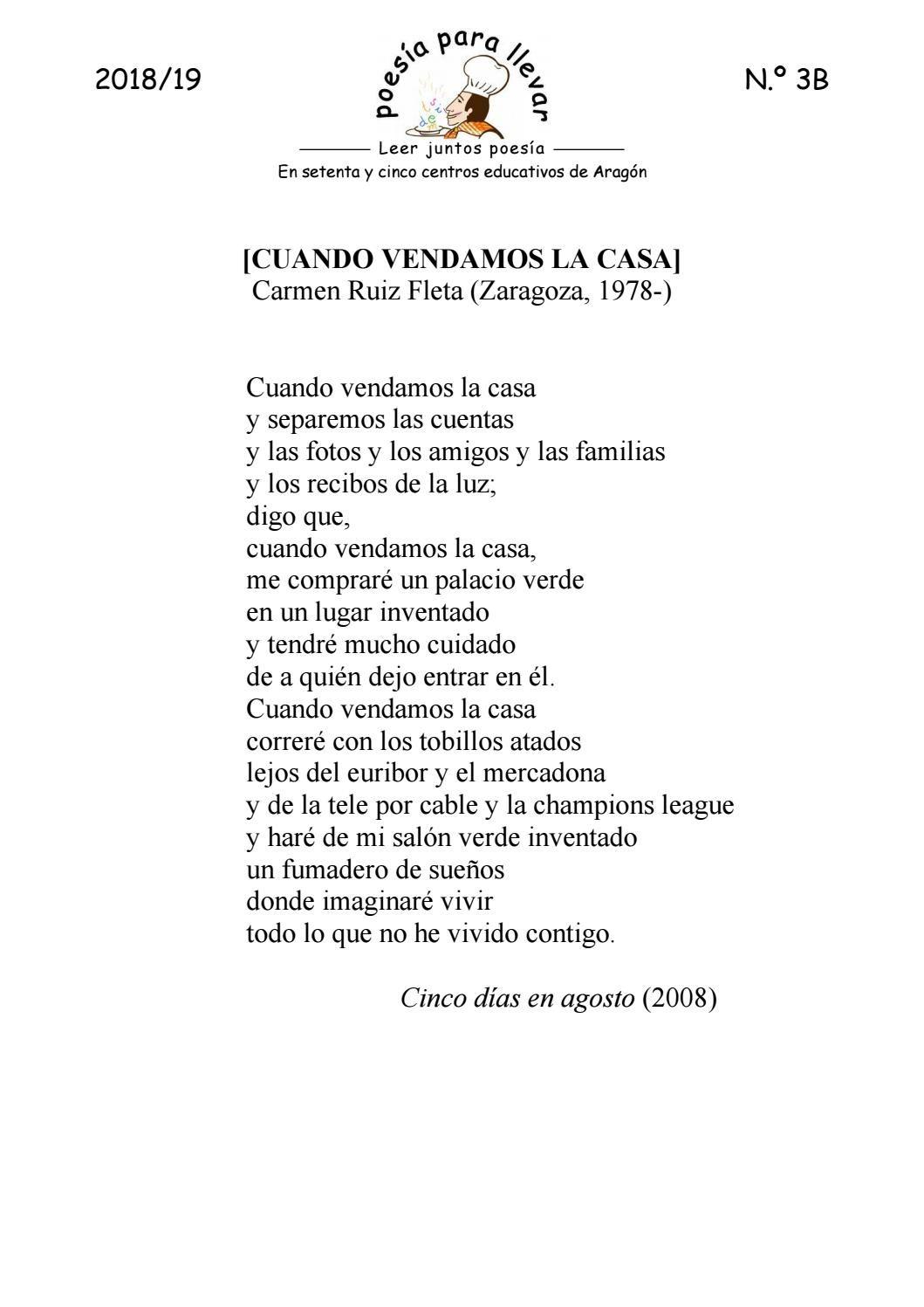 Ppll1819 03b Carmen Ruiz Fleta Cuando Vendamos La Casa