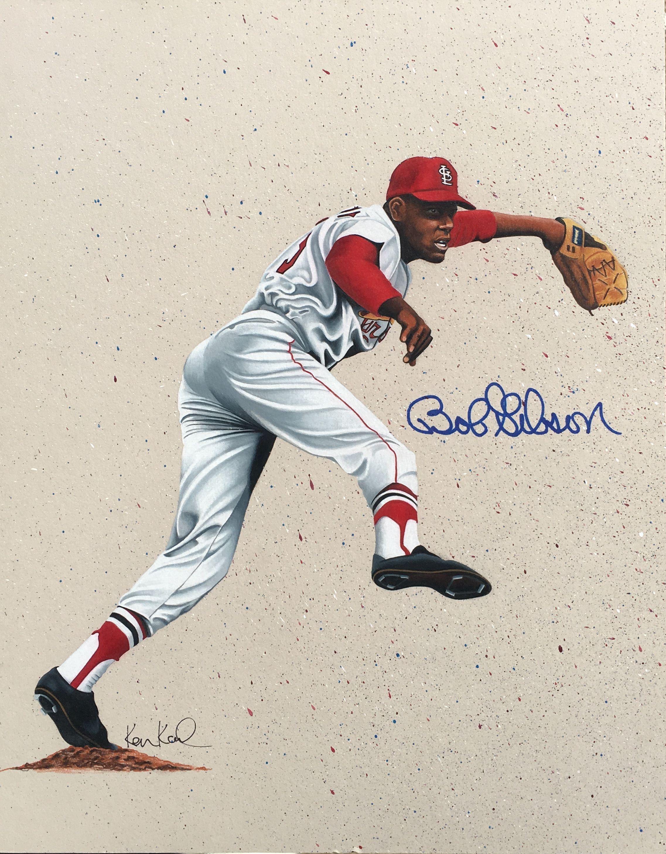 Bob Gibson Colored Pencil Drawing By Ken Karl St Louis Cardinals Baseball St Louis Baseball St Louis Cardinals