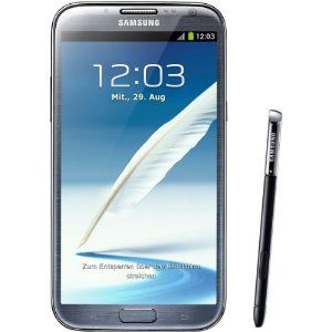 Samsung Galaxy Note Ii N7100 Smartphone 16gb 14 Cm 5 5 Zoll Amoled Touchscreen Quad Core 1 6ghz 8 Megapixel Kamera Android 4 1 Augen Samsung Galaxy Note