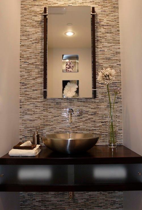 6 Ways To Save On A Pretty Powder Room Design Modern Powder Rooms Powder Room Small Powder Room Design