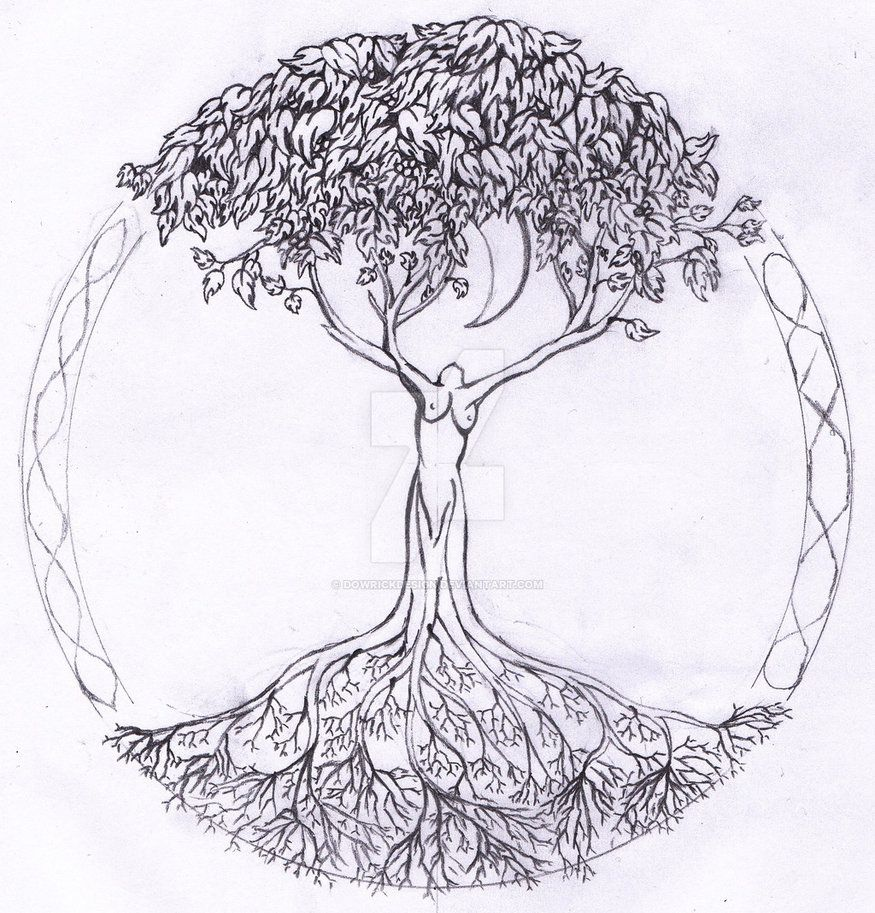 Sketches Tree Of Life Tattoo Ideas