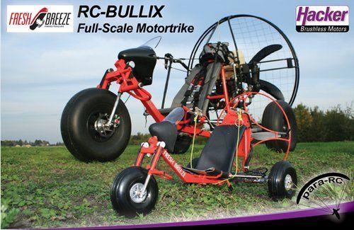 Trikes - Build X   Paragliding   Powered parachute