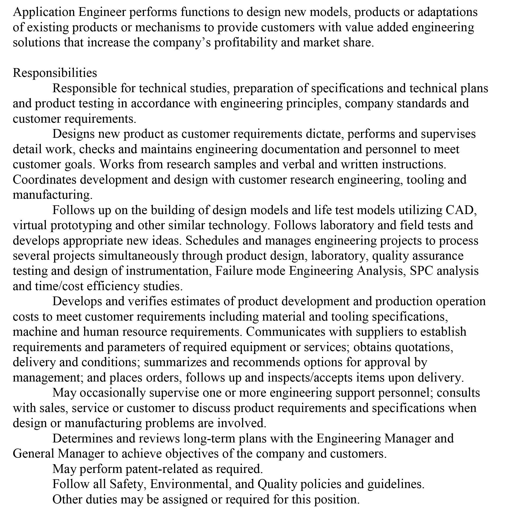 Application Engineer | Hot Jobs! | Pinterest