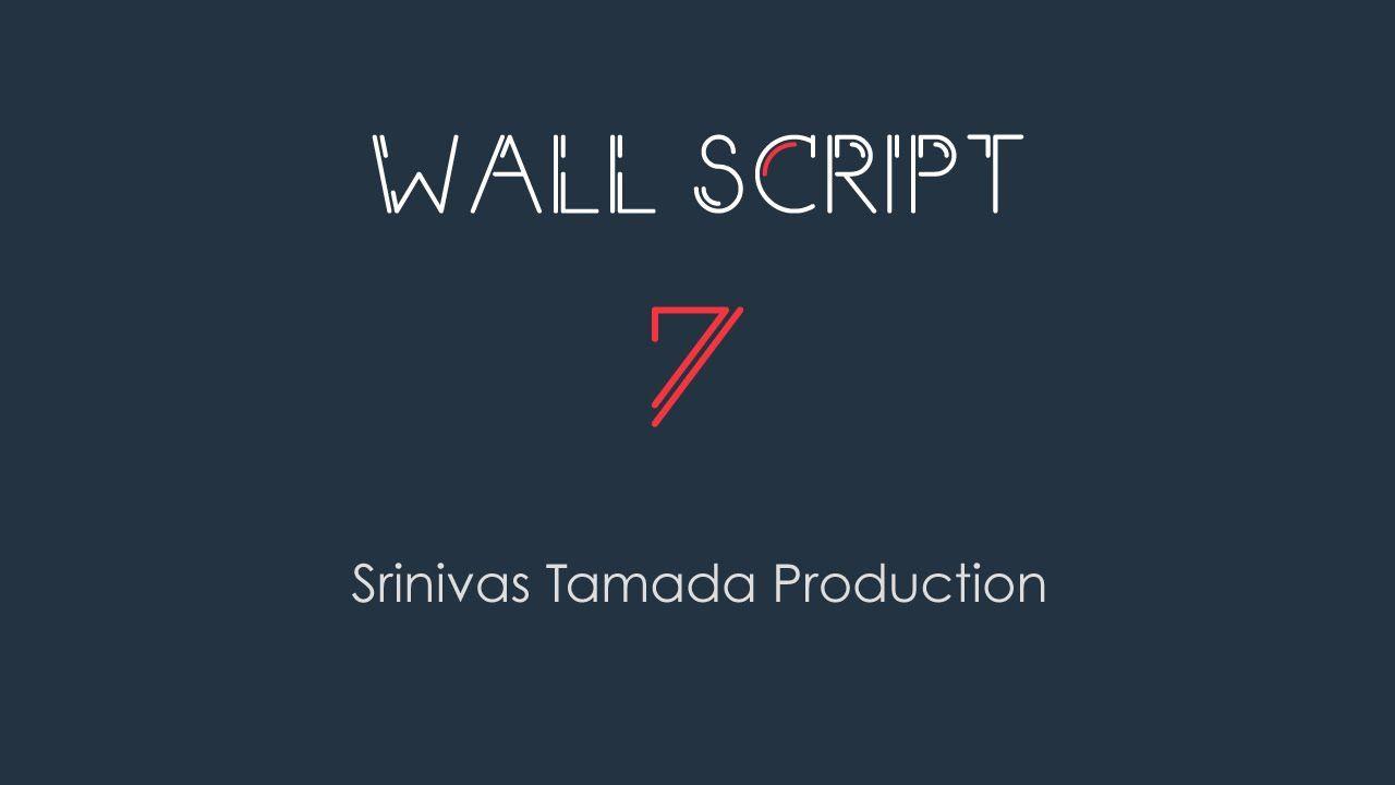Wall Script 7 : The Social Network Clone Script.