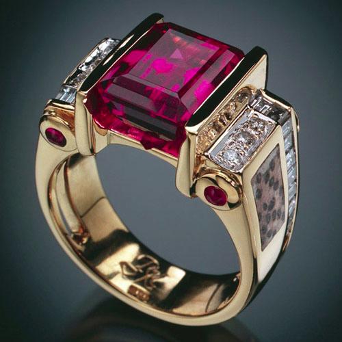 Rubellite Tourmaline, RANDY POLK DESIGNS Fabulous jewelry