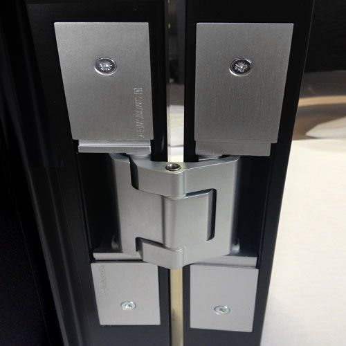 Tectus Hinge Installation Photo Showing Concealed Te540 Concealed Hinge Concealed Hinges Hinges Concealed
