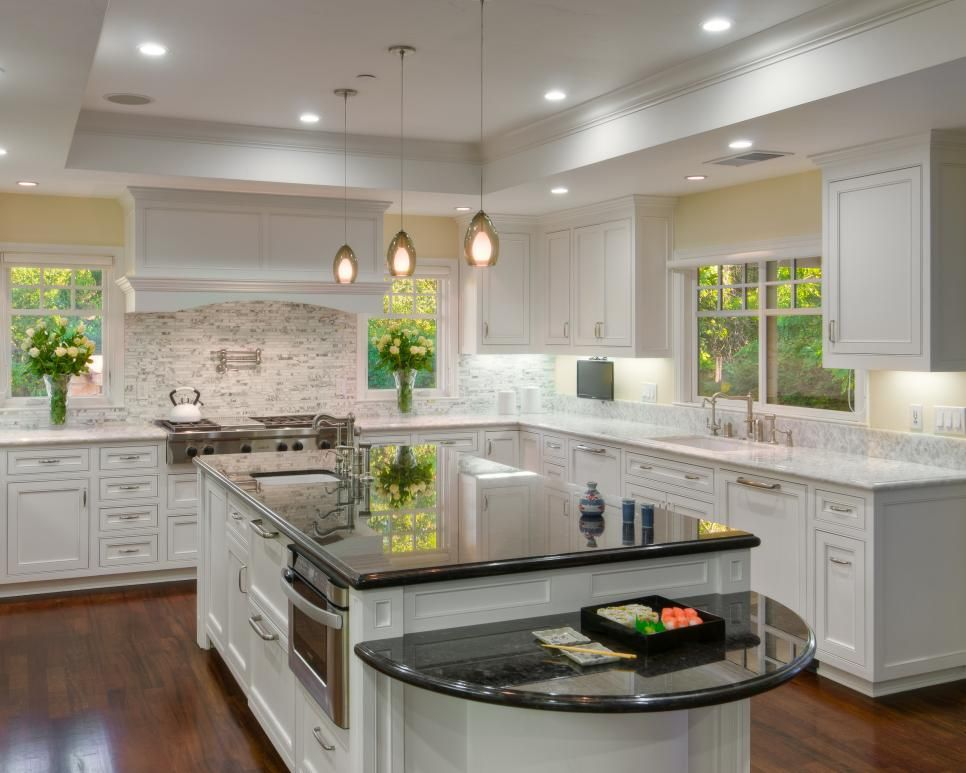 Consider Putting A Diffe Colored Countertop On The Center Island So That It Stands Apart From Rest Of Kitchen