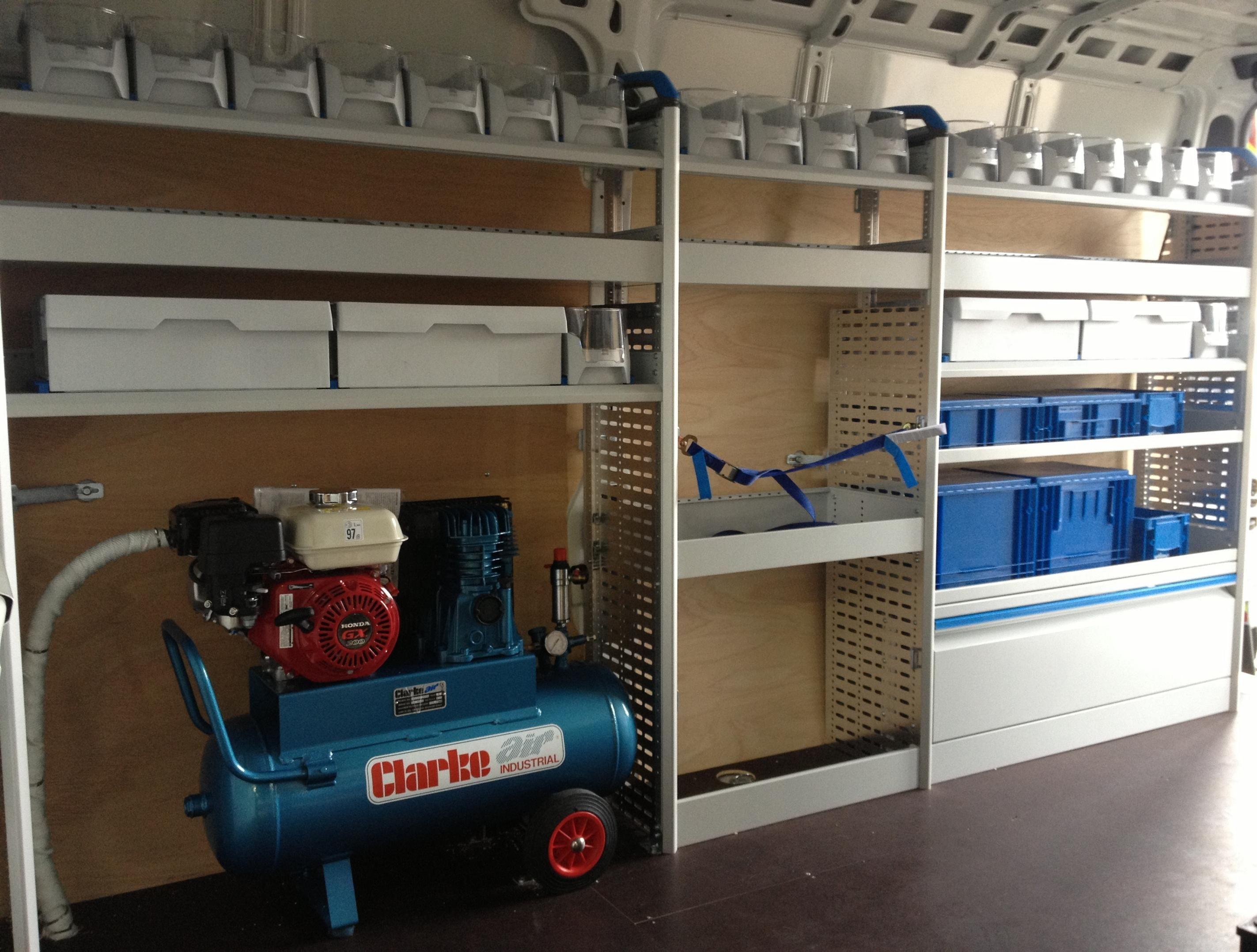 well organised plumbing van plumbing vans pinterest. Black Bedroom Furniture Sets. Home Design Ideas