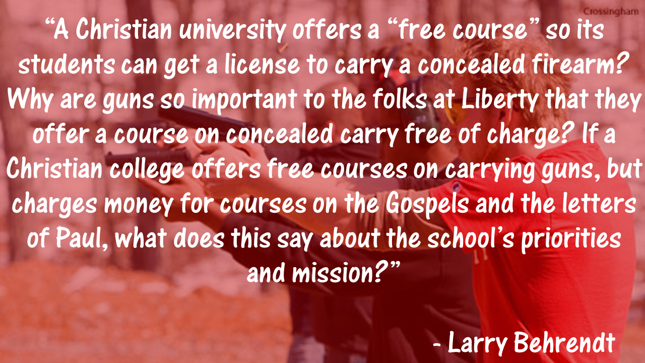 Guns and Liberty Liberty, Christian college, Liberty