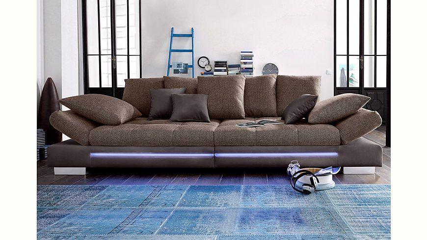 Big-Sofa, wahlweise mit RGB-LED-Beleuchtung, Energieeffizienz: A Jetzt bestellen unter: https://moebel.ladendirekt.de/wohnzimmer/sofas/bigsofas/?uid=c2ea6ab8-2d2f-526b-915e-8eb9082dafce&utm_source=pinterest&utm_medium=pin&utm_campaign=boards #bigsofas #sofas #wohnzimmer