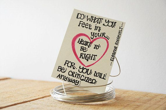 Tiny Black, White and Pink Handwritten Quote  - Do Right #etsy #watercolor