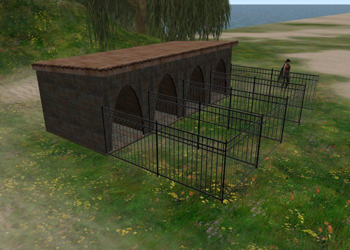 DIY How To Build Wood Kennels Plans Free Dogs Pinterest Best