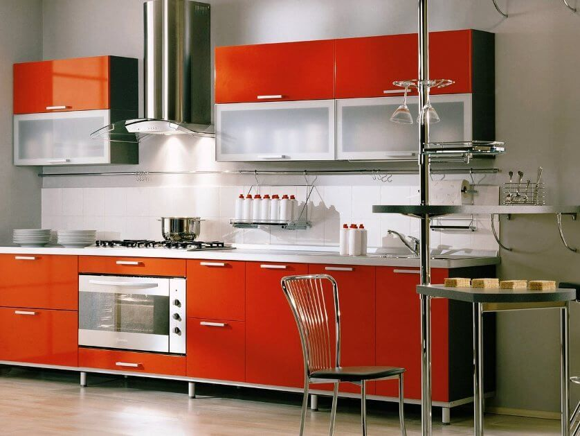 Some Orange Kitchen Theme Ideas For Your Kitchen in 2018 Kitchen