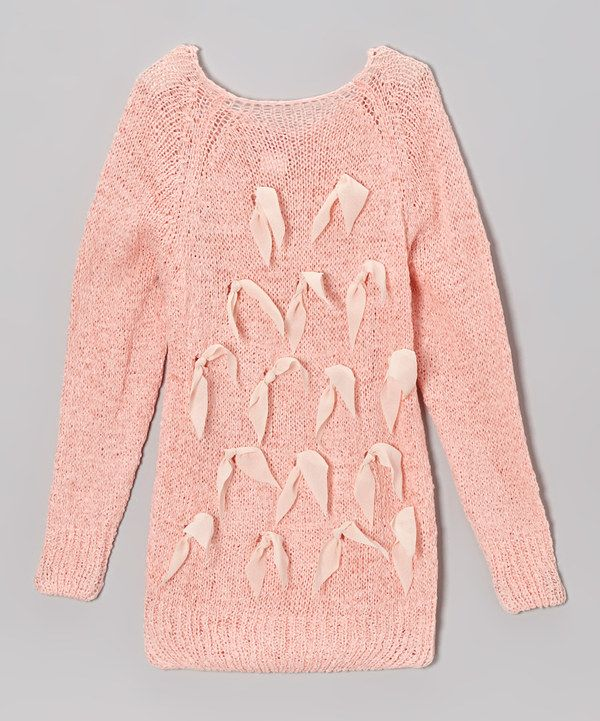Paulinie Pink Bow Sweater - Toddler | Toddler girls and Stylish ...