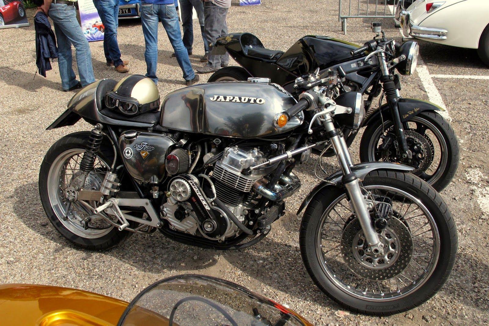 750 four honda 'japuto' turbo cb 4 cylinder   cafe bikes