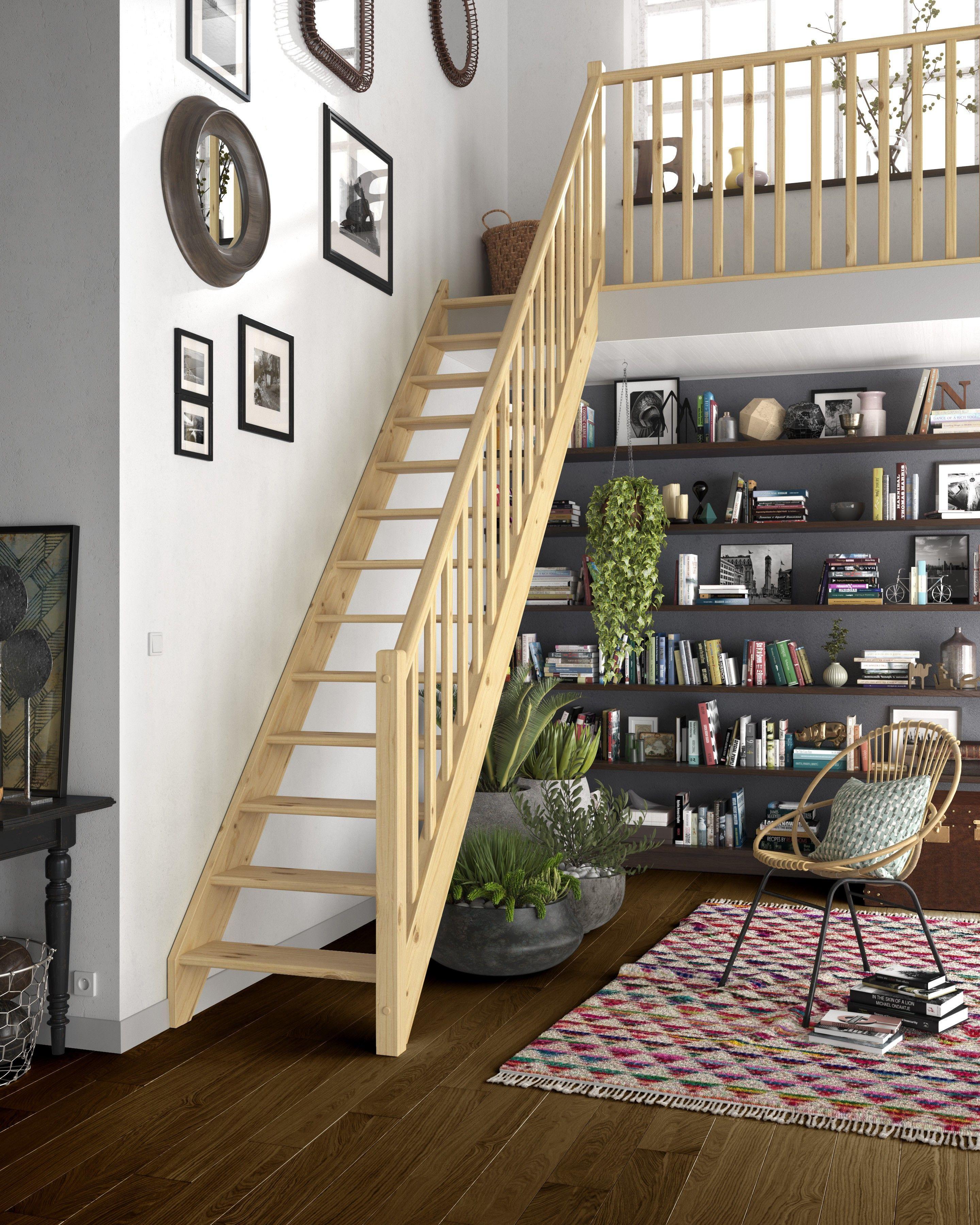 L\'escalier Faubourg de Lapeyre s\'adapte à chaque pièce de la maison ...