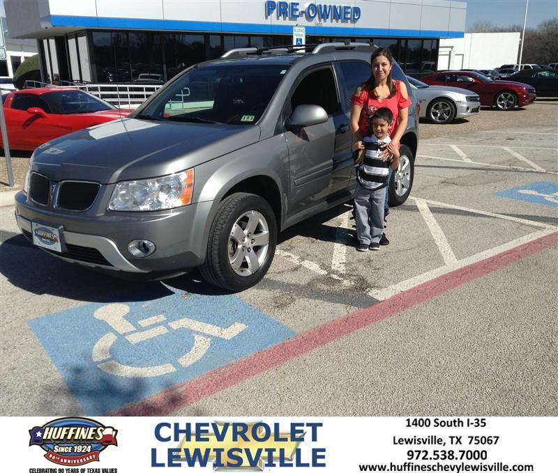 #HappyAnniversary to Gasped Carsons on your 2006 #Pontiac #Torrent from Everyone at Huffines Chevrolet Lewisville!