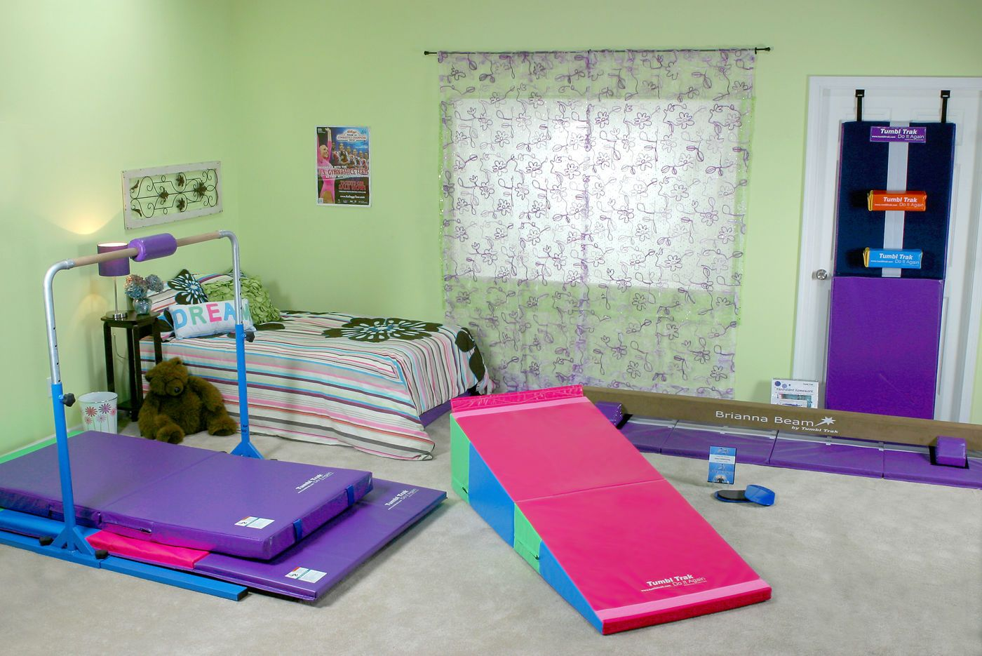 medium we mat never products purple folding mats gymnastics incline sell used new pink