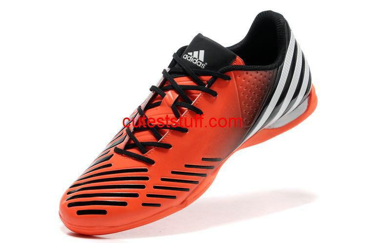 the best attitude cce55 c1692 Adidas Predator LZ IC Cleats Total Orange White Black