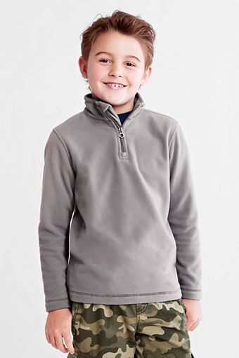 Toddler Boys' ThermaCheck® l00 Half-zip Pullover