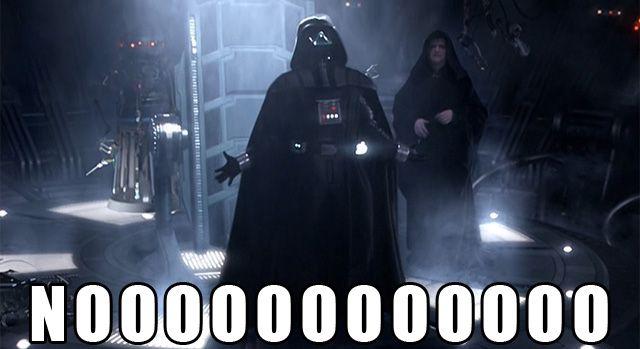Star Wars Memes Darth Vader No Darth Vader Meme Darth Vader Star Wars