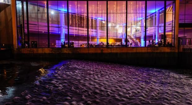 Weddings Century Center Great Hall Wedding Reception South Bend In Near Notre Dame Pinterest And