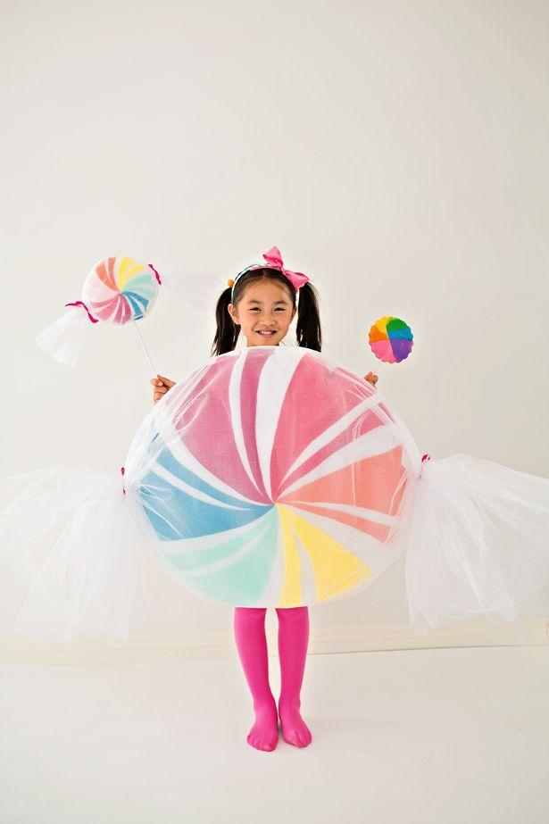 Diy No Sew Felt Candy Costume For Kids