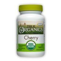 Enzymatic Therapy - Organic Cherry Fruit Extract - 90 tablets by Enzymatic. $12.71. Enzymatic Therapy - True Organics Cherry formerly Organic Cherry Fruit Extract - 90 tabs. Enzymatic Therapy - Organic Cherry Fruit Extract - 90 tablets  Organic Cherry Fruit Extract 90 tabs  Dietary Supplement  Supplement Facts Serving Size: 2 Tablets Servings Per Container: 45  Amount Per 2 Tablets:  Calories 5 Total Carbohydrate 2 g -Dietary Fiber <1 g -Sugars <1 g Sodium 5 mg Organic Sweet C...
