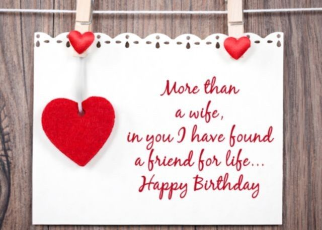 Best Birthday Wishes For Wife Birthday Wishes Lines Sayings
