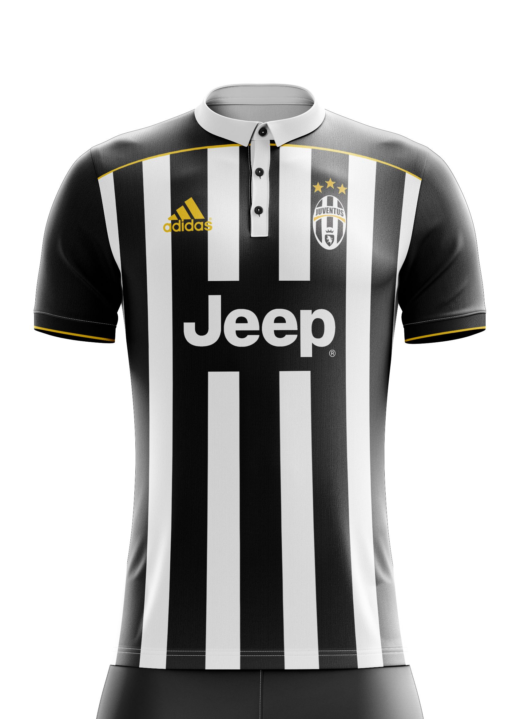 370eb4e62 I designed football kits for Juventus FC for the upcoming season 17 ...