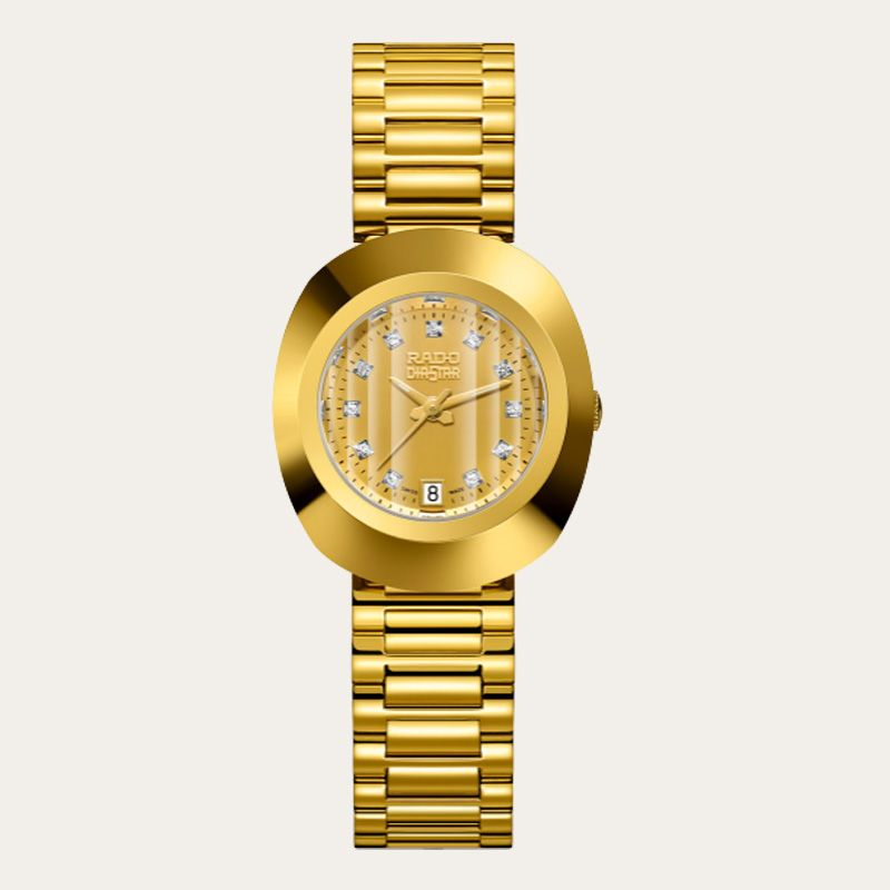 a54cad45e3a A Rado under  1000 with characters and diamonds!  ladieswatch  rado  watches