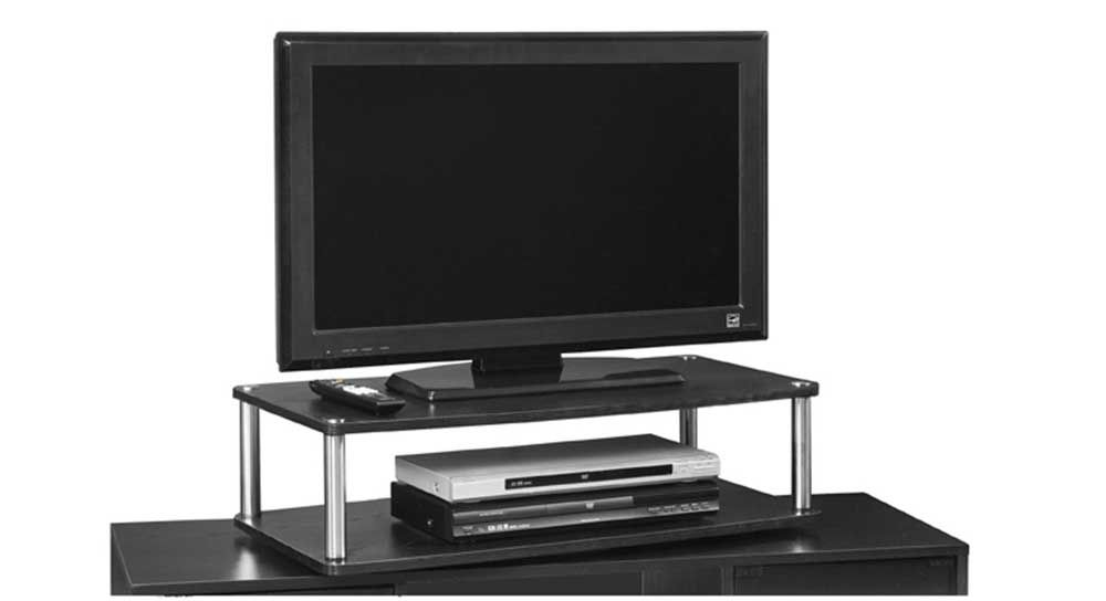 Convenience Concepts 151304 Xl 2 Tier Tv Swivel Board For Flat Panel