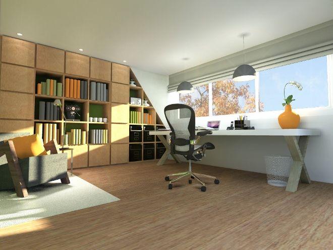 Ruiter dakkapel kantoor inspiratie slaapkamer for Kantoor interieur ideeen