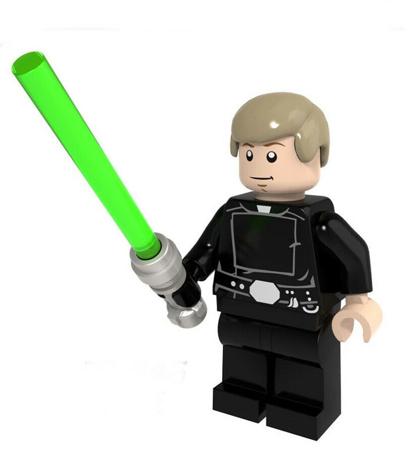 Star Wars Minifigures Han Solo Obi-Wan Skywalker Vader Leia Lego Building Blocks