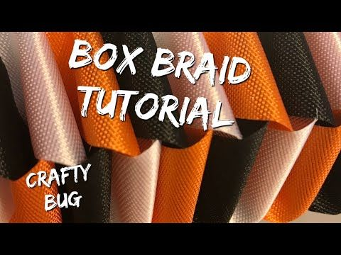 Box Braid Tutorial; how to make Homecoming Mums; homecoming mum braids and chains; love chain #homecomingmumsdiy