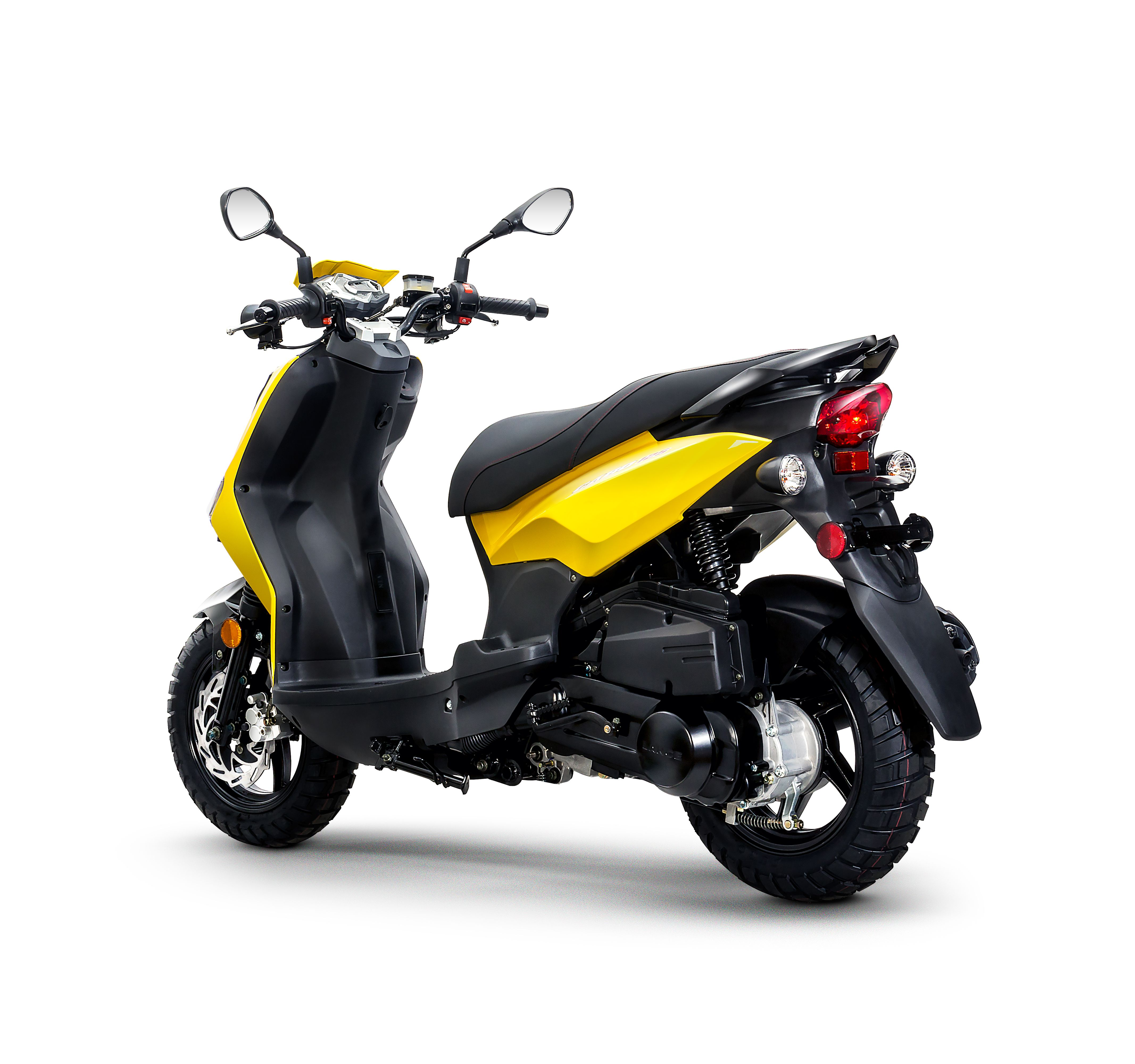Lance Cabo 50 125 Intense Yellow Scooter Motorcycle Scooter
