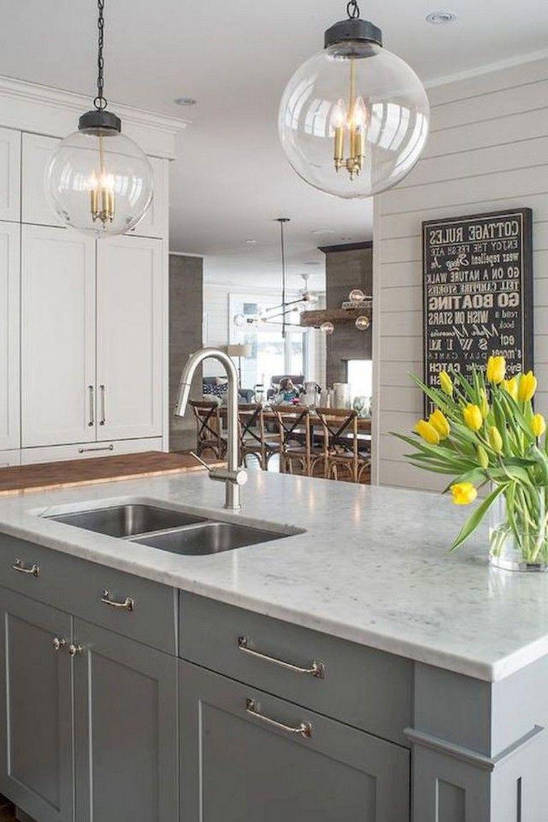 58 gorgeous white kitchen cabinet makeover ideas kitchens kitchendesign kitchende gorgeous on kitchen makeover ideas id=91627
