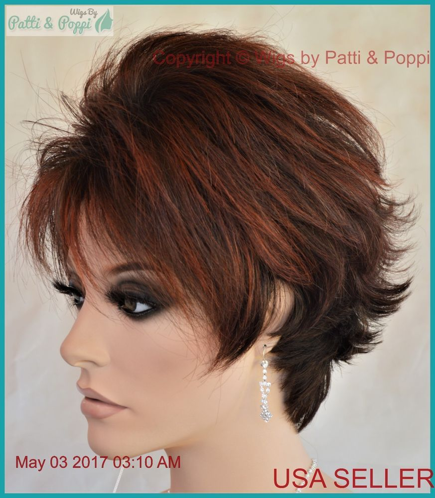MICKI Lace Front Monotop Wig Short Wig Color ENVY WIGS Rooted ...