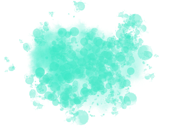 Request Turquoise splatter png by DIYismybae Ideias