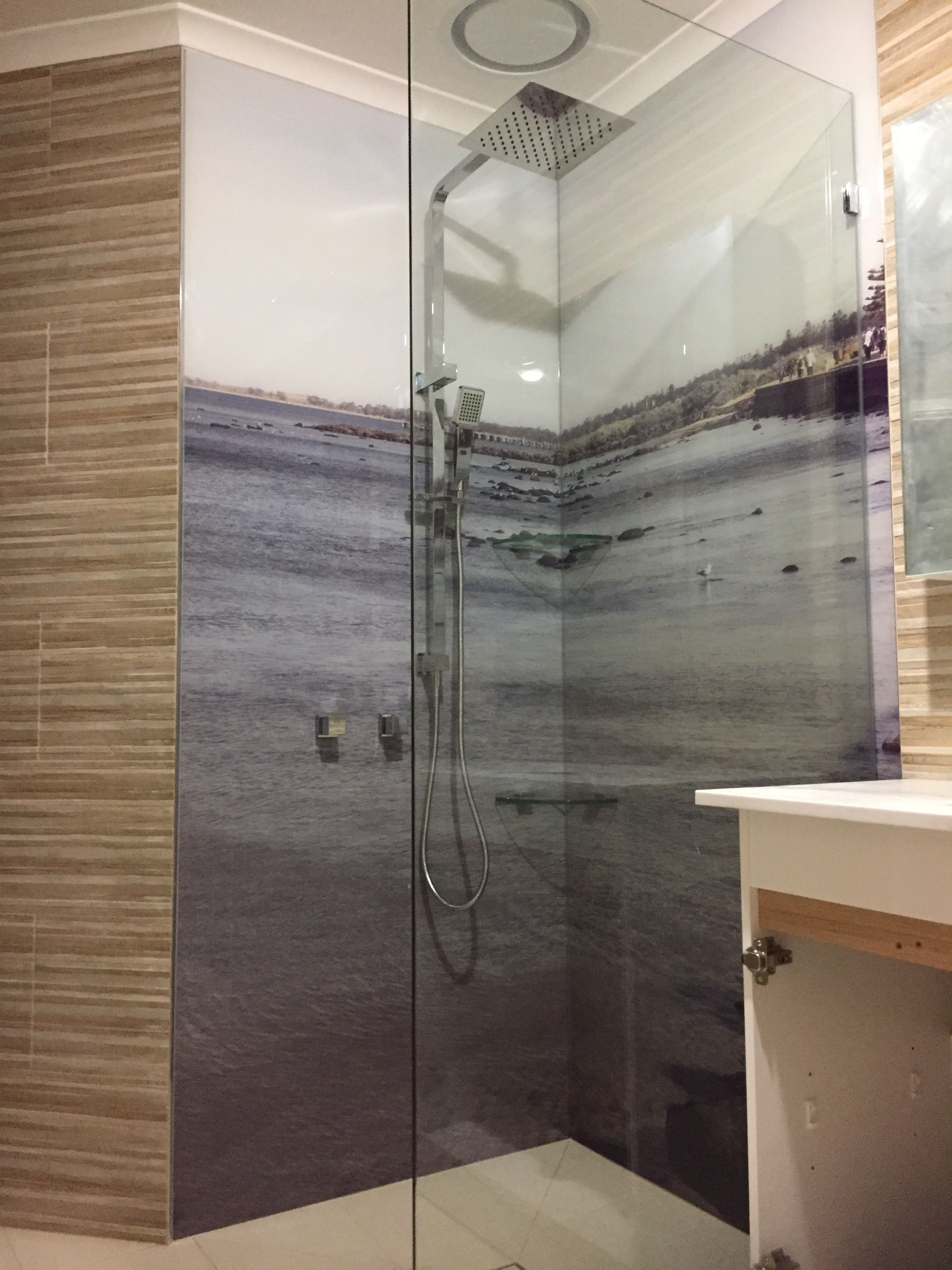 Printed Shower Panels Acrylic Splashbacks Shower Panels Glass Splashback