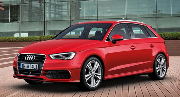 Audi debut redesigned 5 door A3 Sportback But it won't come to the US