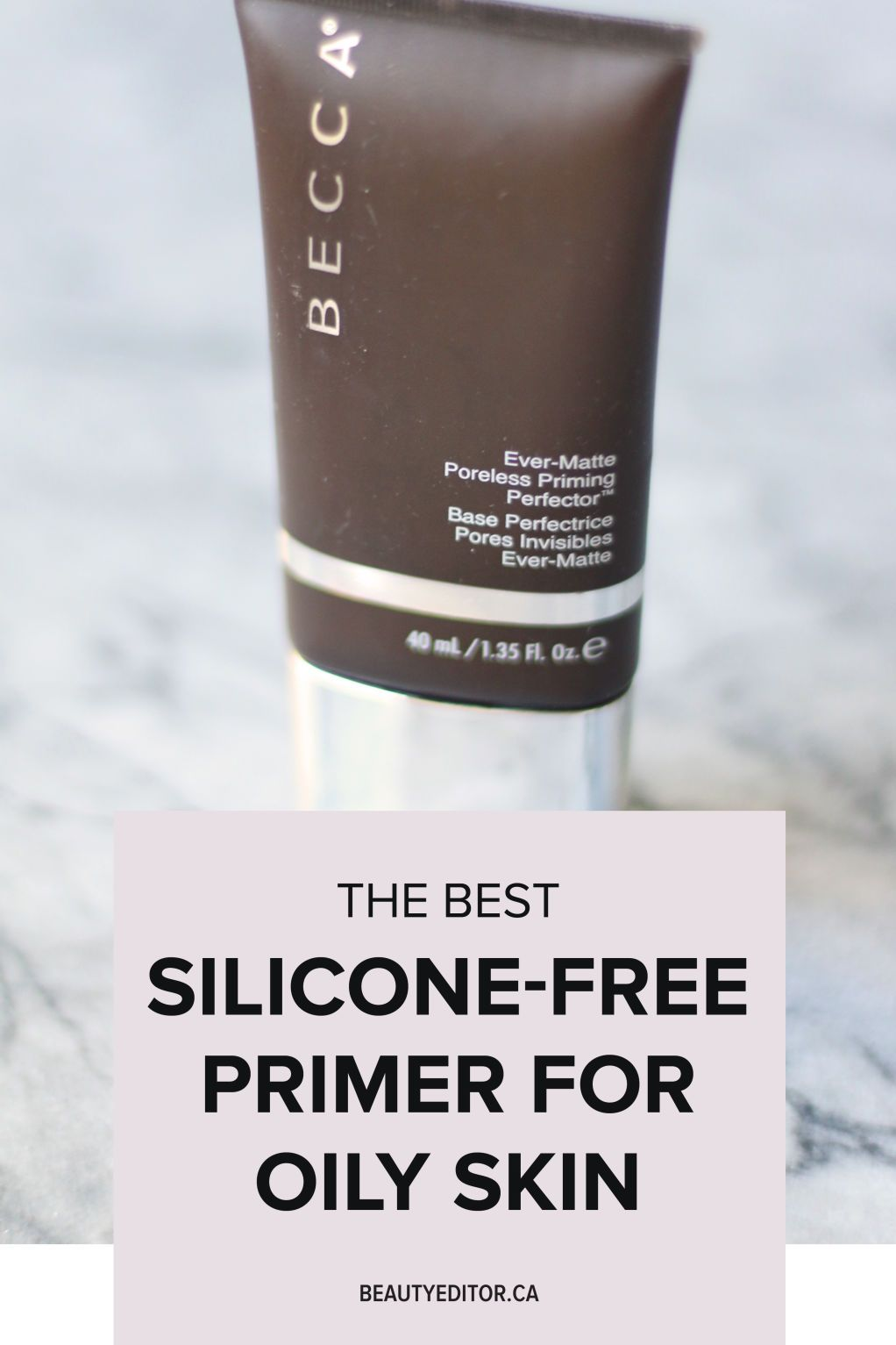 Silicone Makeup Brushes: This Is The Best Silicone-Free Primer For Oily Skin