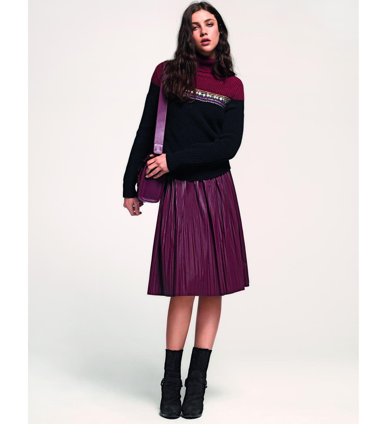 La jupe midi Liu Jo, tendance mode automne hiver 2014-2015