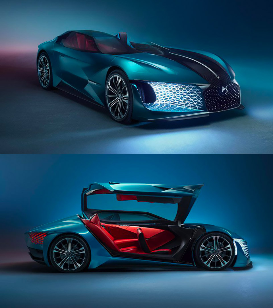 Ultra Sleek Electric Ds X E Tense Supercar Becomes A Reality Here S An Up Close Look Techeblog 6 26 19 Best Luxury Cars Super Cars Futuristic Cars