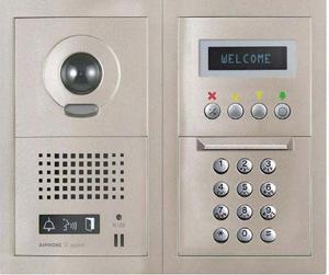 Aiphone Gt Video Intercom Panel Intercom Installation Security System